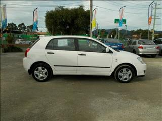 2004 Toyota Corolla Ascent ZZE122R Hatchback