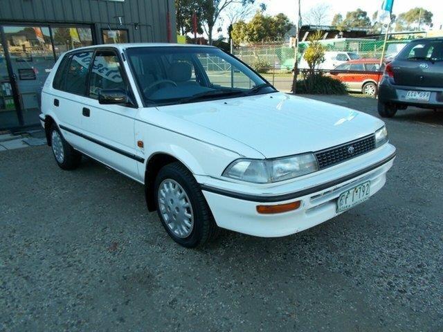 1993 Toyota Corolla CSi Limited AE94 Hatchback