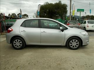 2009 Toyota Corolla Ascent ZRE152R MY10 Hatchback