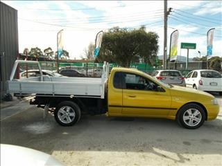 2003 Ford Falcon Tradesman Super Cab XL BA Traytop