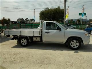 2010 Mazda BT-50 DX UNY0W4 Cab Chassis