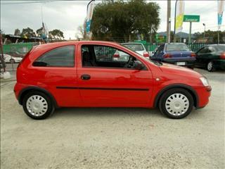 2004 Holden Barina  XC MY05 Hatchback