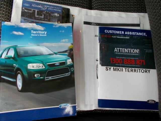 2009 Ford Territory TX (RWD) SY MY07 Upgrade Wagon