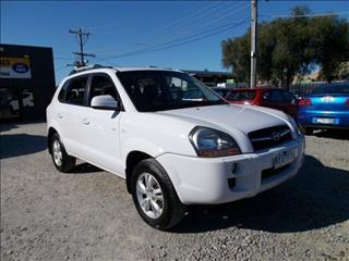 2008 Hyundai Tucson City Elite JM MY09 Wagon
