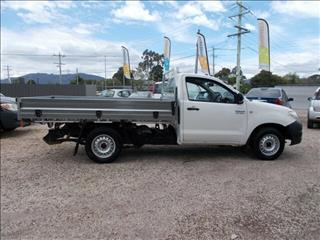 2009 Toyota Hilux Workmate 4x2 TGN16R MY09 Cab Chassis
