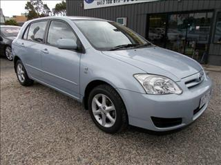 2007 Toyota Corolla Conquest ZZE122R 5Y Hatchback