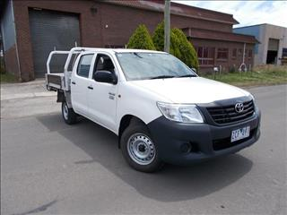 2012 TOYOTA HILUX WORKMATE TGN16R MY12 DUAL CAB P/UP
