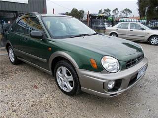 2001 SUBARU IMPREZA RV (AWD) MY01 5D HATCHBACK