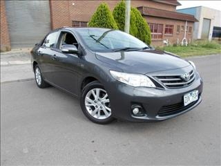 2013 TOYOTA COROLLA ASCENT SPORT ZRE152R MY11 4D SEDAN