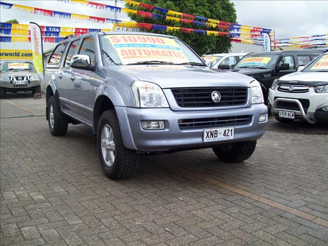 2005 HOLDEN RODEO LX RA C/CHAS