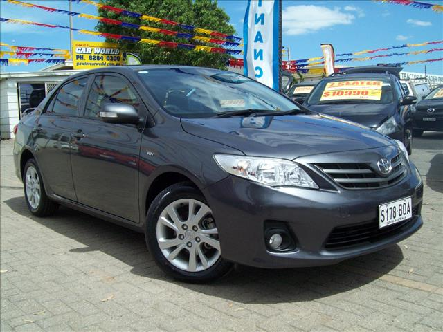 2012 TOYOTA COROLLA ASCENT SPORT ZRE152R MY11 4D SEDAN