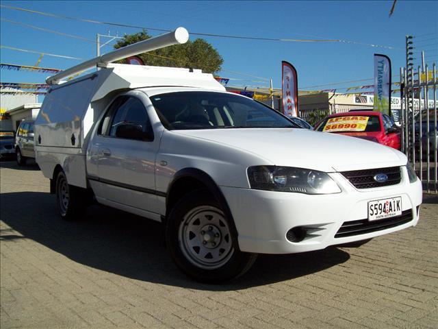 2007 FORD FALCON RTV (LPG) BF MKII C/CHAS