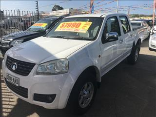 2011 GREAT WALL V240 (4x2) K2 DUAL CAB UTILITY