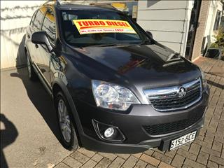 2012 HOLDEN CAPTIVA 5 (4x4) CG SERIES II 4D WAGON