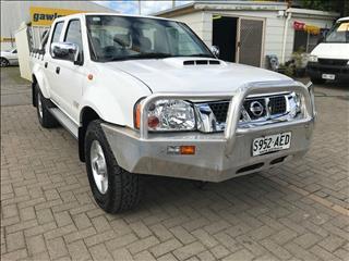 2009 NISSAN NAVARA ST-R (4x4) D22 MY08 DUAL CAB P/UP