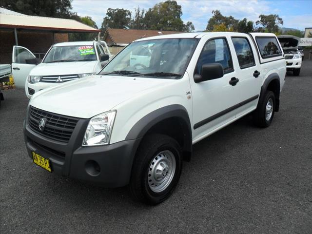 2007  HOLDEN RODEO LX RA MY06 UPGRADE CREW CAB P/UP
