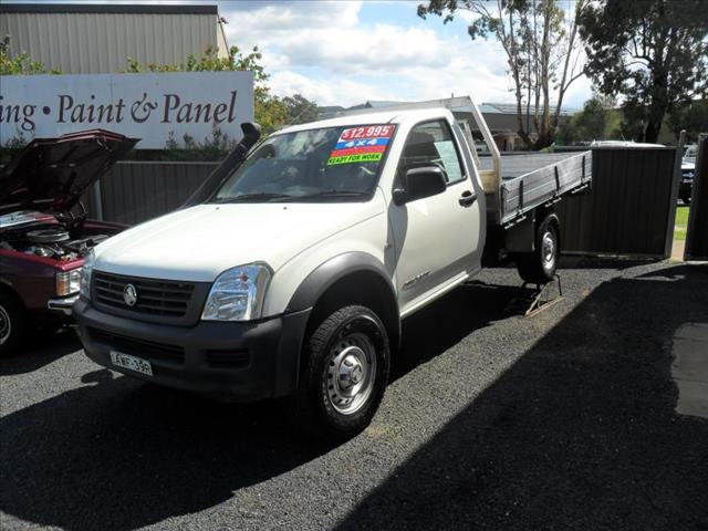 2005  HOLDEN RODEO DX (4X4) RA C/CHAS