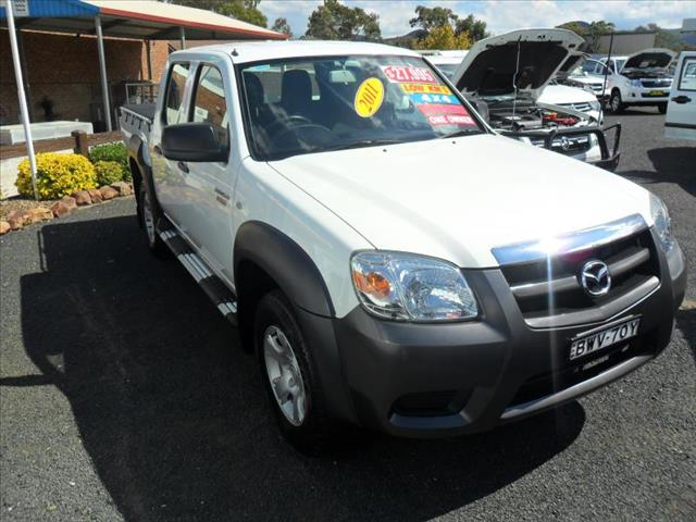 2011  MAZDA BT50 BOSS B3000 DX (4X4) 09 UPGRADE DUAL CAB P/UP