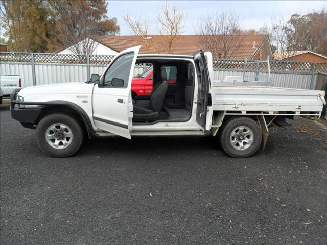2004  FORD COURIER XL (4X4) PG SUPER CAB P/UP