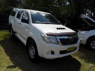 2013  Toyota Hilux SR KUN26R 4X4 Utility
