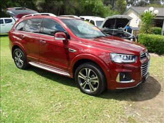 2017  Holden Captiva LTZ CG 4X4 On Demand Wagon