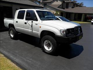 2001  Toyota Hilux  RZN169R 4X4 Dual Range Utility