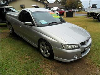 2006  HOLDEN COMMODORE S THUNDER VZ MY06 RWD UTILITY