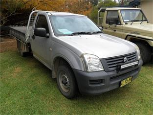 2004  HOLDEN RODEO DX RA RWD C/CHAS
