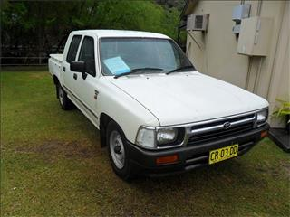 1994  TOYOTA HILUX  LN86R RWD DUAL CAB P/UP