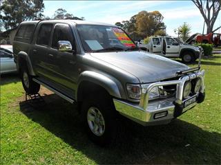 2002  TOYOTA HILUX SR5 (4x4) KZN165R 4WD DUAL CAB P/UP