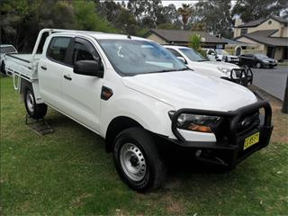 2016  FORD RANGER XL 3.2 (4x4) PX MKII 4x4 CREW C/CHAS