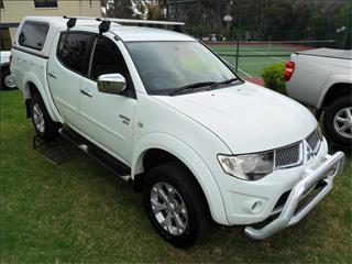 2012  MITSUBISHI TRITON GLX-R (4x4) MN MY12 4x4 DOUBLE CAB UTILITY
