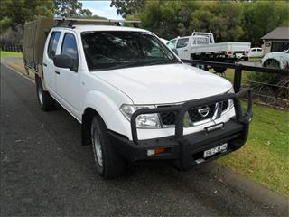 2011  NISSAN NAVARA RX (4x4) D40 4x4 DUAL CAB P/UP