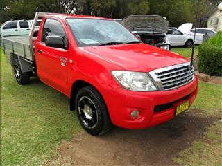 2011  TOYOTA HILUX WORKMATE TGN16R MY11 UPGRADE RWD C/CHAS