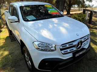 2018  MERCEDES-BENZ X 250d PROGRESSIVE (4MATIC) 470 4WD DUAL CAB P/UP