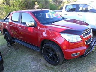 2015  HOLDEN COLORADO LTZ STORM (4x4) RG MY15 4x4 CREW CAB P/UP