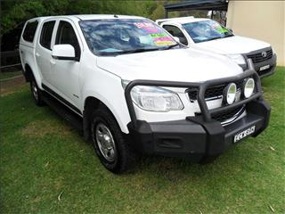 2013  HOLDEN COLORADO LX (4x4) RG 4x4 CREW CAB P/UP