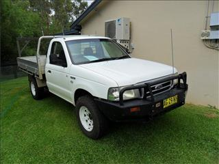 2005  FORD COURIER GL (4x4) PH 4WD C/CHAS