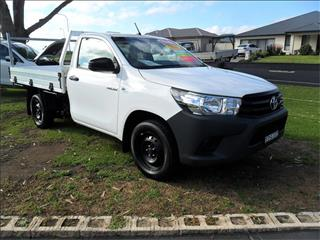 2016  TOYOTA HILUX WORKMATE TGN121R RWD C/CHAS
