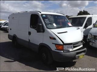 2003 IVECO DAILY VAN EURO 3 35S 2.8LTR MANUAL