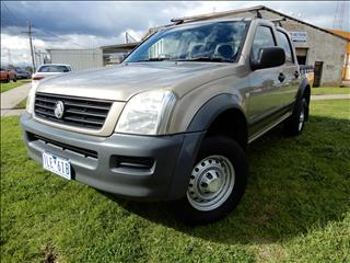 2004 HOLDEN RODEO LX RA UTILITY