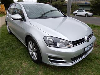 2013 VOLKSWAGEN GOLF 110TDI Highline 7 HATCHBACK