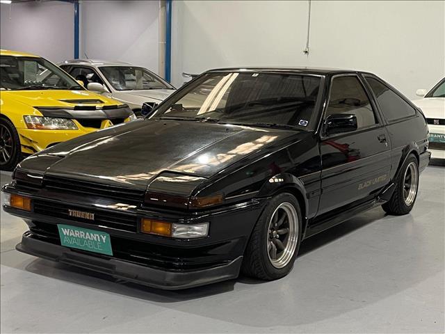 1986 TOYOTA SPRINTER Trueno GT-Apex Black Limited