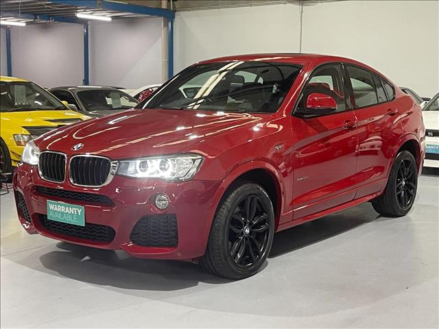 2015 BMW X4 xDRIVE 20d F26 MY15 5D COUPE