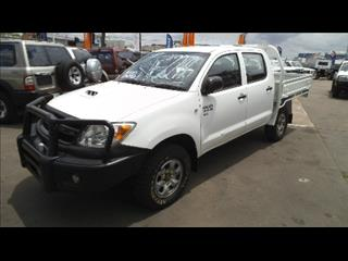 2008 TOYOTA HILUX SR (4x4) KUN26R 07 UPGRADE DUAL CAB P/UP