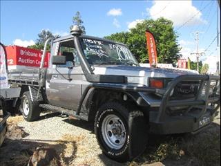 2002 TOYOTA LANDCRUISER (4x4) HZJ79R C/CHAS