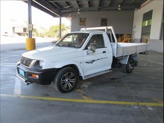 2002  MITSUBISHI TRITON GL MK MY02 CAB CHASSIS