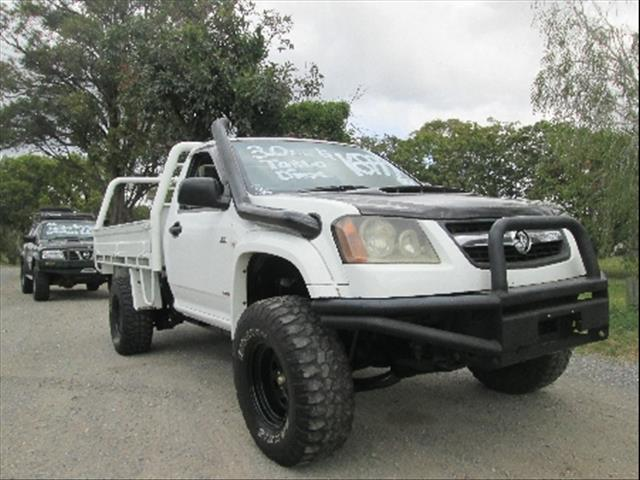 2009  HOLDEN COLORADO LX RC MY09 CAB CHASSIS