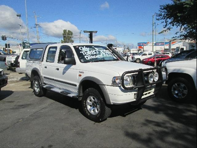 2004  FORD COURIER GL Crew Cab PG UTILITY