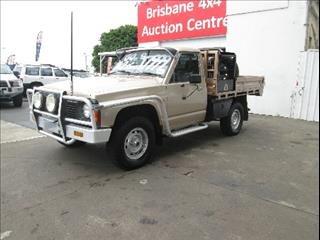1997  NISSAN PATROL DX SINGLE CAB GQ CAB CHASSIS